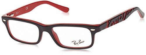 Ray-Ban Mädchen 0RY 1535 3573 48 Brillengestelle, Schwarz (Nero),