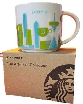 Starbucks 2012 You Are Here Collection, Seattle Mug 410ml