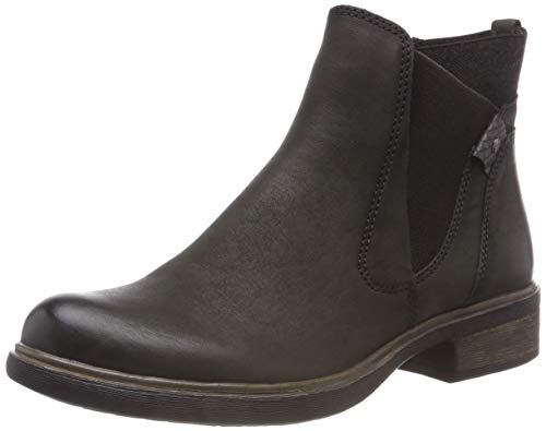 Tamaris Damen 25317-21 Chelsea Boots, Grün (Olive/Anthrac. 712), 42 EU