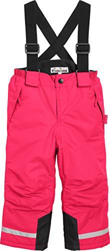 Playshoes Jungen Schnee-Hose Schneehose, Rosa (pink), (Herstellergröße: 104)