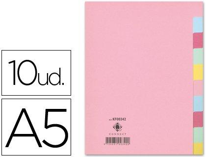 Schiebe Q-Karton Register 10-teilig DIN A5