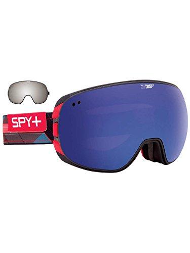 Spy Snow Goggle Doom with Bonus Lens Happy Rose Dark Blue Spec, One size