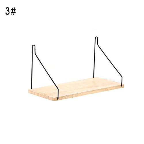 sal008ly7far Einfache Art-Organisations-Ausgangsdekor-Wand-hängendes Regal, Ausgangsraum-Wand-hängender Einzelner Brett-Topf-Figürchen-Speicher-Gestell-Regal-Halter SNone