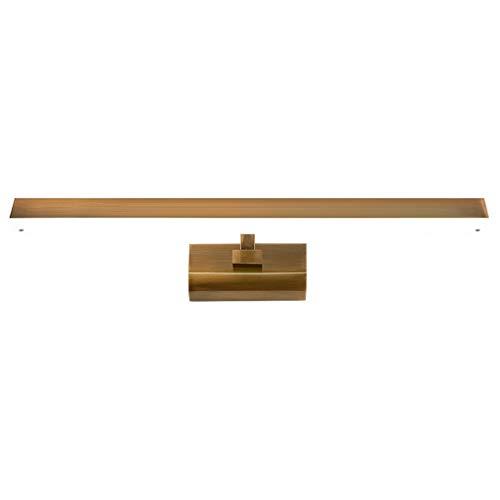 ,Spiegelleuchte Spiegel Scheinwerfer im amerikanischen Stil Beschichtung Nachahmung Kupfer LED Badezimmer Lampen Moderne minimalistische Badezimmer Wandleuchten .Spiegellicht
