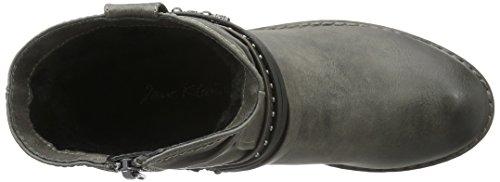 Jane Klain - Stiefelette, Stivali a metà gamba con imbottitura pesante Donna Grigio (Grau (210 Graphite))