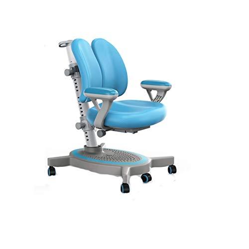Yyqtyz Arbeitsstuhl for Kinder , Kids Desk Chair Höhenverstellbarer Kindersitz for Kinder