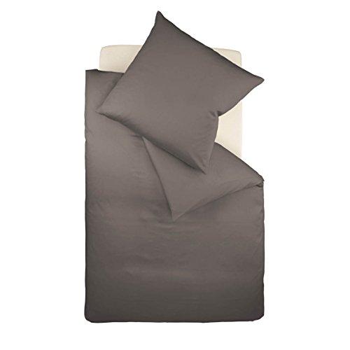 Galleria fotografica fleuresse colours 8031Expresso dimensioni 135x 200cm biancheria da letto in cotone makò satinato