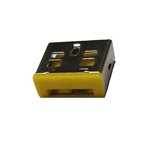 Entry-level-usb (Entry Level USB-Port-Schloss (gelb): 10 Stück + Einstiegs-Port, Schlüssel (gelb))