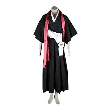 Bleach 10. Division Leutnant Matsumoto Rangiku Cosplay Kostüme Brauch (Mailen Sie uns Ihre Größe),Größe XL:170-175 (Kostüme Leutnant)