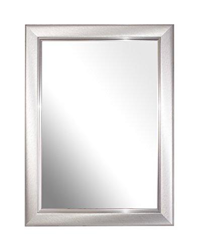 Inov8 Spiegel Rahmen, gebürstet klein Silber A4Zertifikat, Single