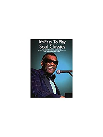 It's Easy To Play Soul Classics. Partitions pour Piano, Chant et Guitare(Symboles d'Accords)