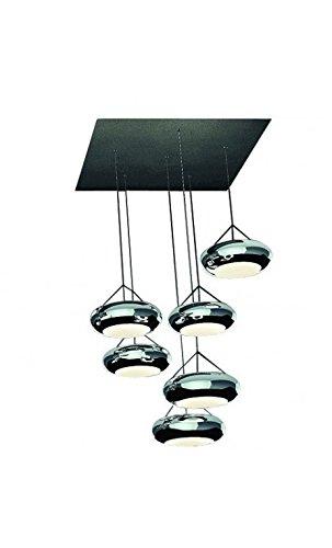 Aura Pendelleuchte (Sompex LED Pendelleuchte Aura Cluster Module Mini | LEDs fest verbaut 65W 4225lm warmweiß | 94290)