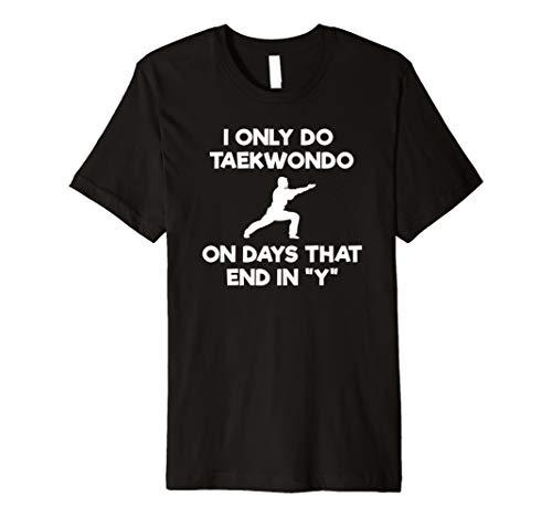 Taekwondo Selbstverteidigung Funny Shirt–Tagen (Grün-reversibel-t-shirt)