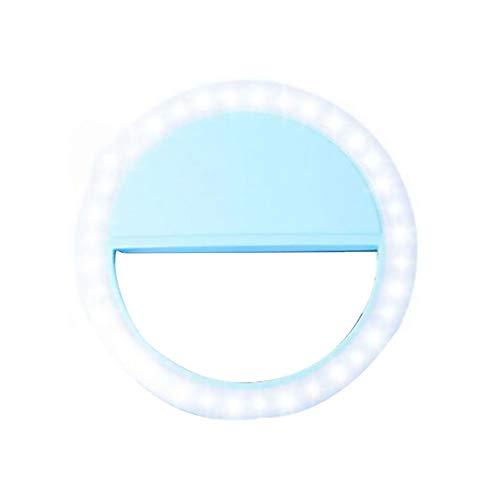 Republe Selfie Ring Flash LED Fill Video Fotografia della Lampada della Luce della Macchina Fotografica Spotlight per iPhone X 8 7 per Samsung S9 S8