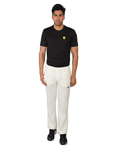 Puma Mens Solid White Track Pant  available at amazon for Rs.1206