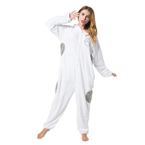 Imagen de kigurumi pijama disfraz traje de dormir para adultos unisex  ideal para cosplay, carnaval o halloween  baymax superhéroe onesie con capucha m alternativa