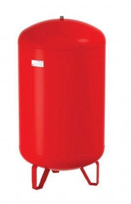 Flamco-Wemefa 26155 Membran-Druckausdehnungsgefäß Contra-Flex 150, 2.5 bar,nach DIN 4751-2, rot
