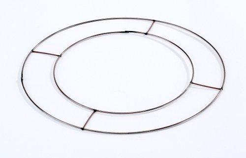 5 X Anneaux de fil plat 30,5 cm (31 cm) de diamètre