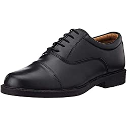 BATA Men's Fromal Lace-up Shoe (7UK/India (41EU), Black)