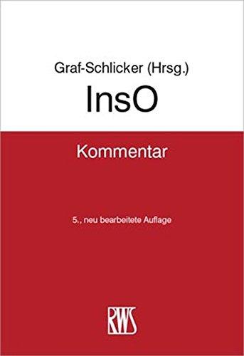 InsO: Kommentar zur Insolvenzordnung