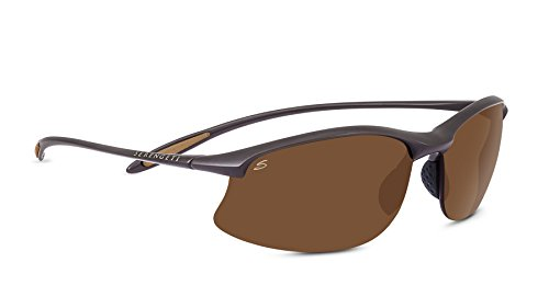 Serengeti Eyewear Sonnenbrille Maestrale, Sanded Dark Brown/Polar Phd Drivers, 8450