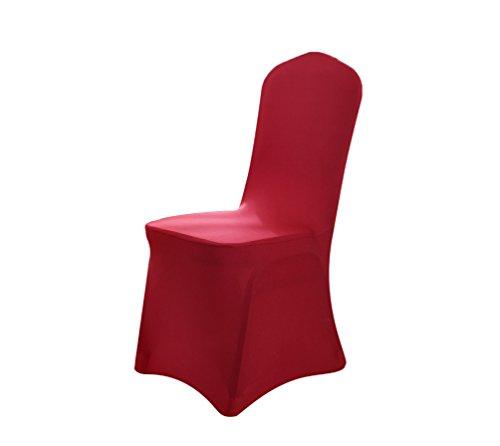 Binhee coperture per sedie da pranzo di tensione decorazione festa in hotel per feste di matrimonio elasticità copertura della sedia