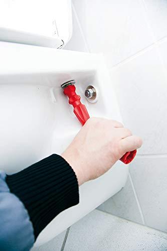 WC-Sitz Montageschlüssel | 200mm | für Flügel und Sechskantmuttern | geeignet für Montage und Demontage | perfekte Hebelwirkung