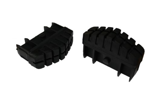 Hailo 9911-001 - Pack 2 tacos antideslizantes superficie