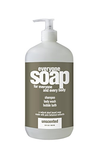 Everyone Bath Soap, Unscented, 32 Ounce by