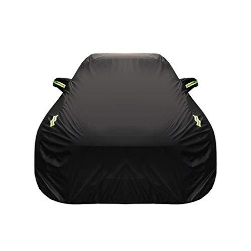 Kompatibel mit Audi q2 Auto Abdeckung SUV wasserdicht atmungsaktiv dicken Sonnenschutz Regen Plane leinwand (Size : Oxford Cloth - Single Layer)