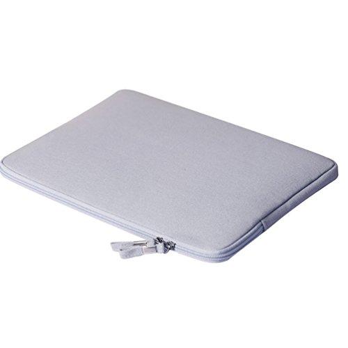 YiJee Universale Laptop Custodia Borse Handbag Accessorio Bag Per PC Portatili 13.3 Pollice Grigio