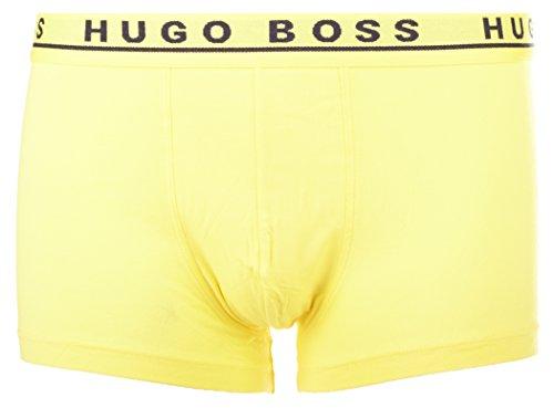 BOSS Hugo Boss Herren Retroshorts Boxer Trunk 3P CO/EL 10146061 02 Schwarz