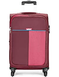 Safari Duo 4W 78 cm Red Softsided Check-in Luggage