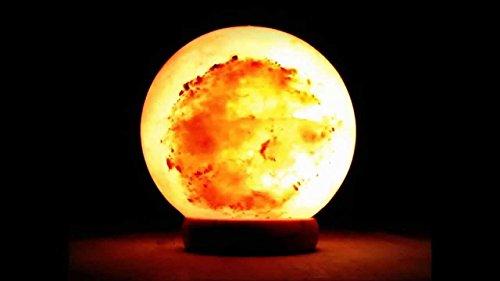 Magic Salt ® BIG BIG Ball / Globe shape Himalayan Crystal Salt...