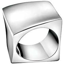 Calvin Klein KJ53AR010105 - Anillo de mujer de acero inoxidable