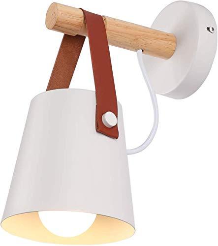 Accesorios de pared de luz lámpara de pared del accesorio de iluminación, Negro dormitorio Industrial...