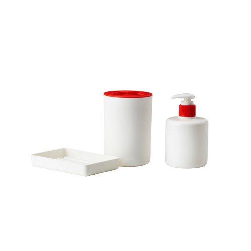 IKEA VARPAN -3- teiliges Badezimmer Weiß eingestellt