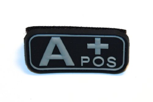 Patch mit Haken velcrotm Unterstützung: A POS + (Blut-patch)