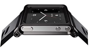 Hoso Multi-Touch de aluminio funda brazalete para Apple iPod Nano 6. Generación 8GB 16GB (OEM) de Hoso