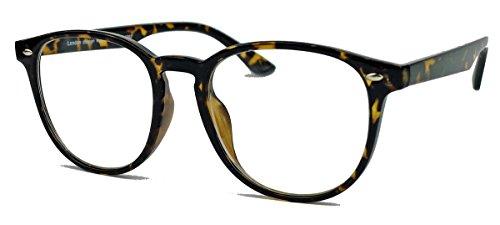 Retro Brillengestell Damen Herren Pantobrille Klassiker Sonnenbrille o Nerdbrille VN77...