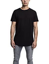 Urban Classics TB638 Herren T-Shirt Shaped Long Tee mit Rundhals