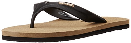 Woodland Men's Khaki Flip-Flops and House Slippers - 10 UK/India (44 EU)  available at amazon for Rs.371