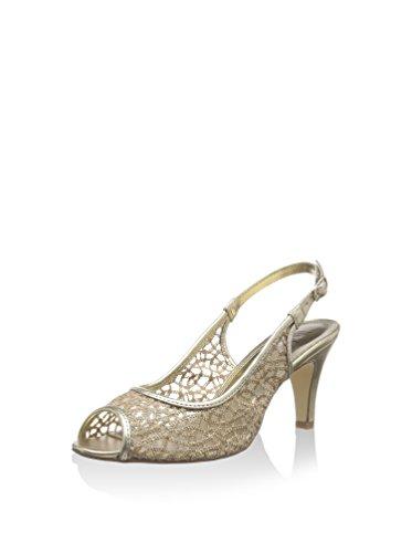 Lotus, Sandali donna Nero nero Oro (oro)