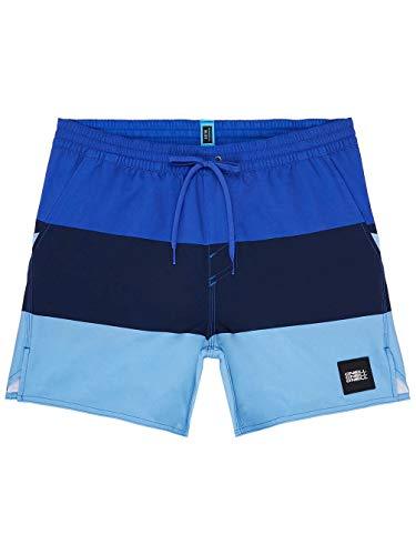 O'NEILL PM Vert-Horizon - Bañador para Hombre, Hombre, 9A3206, Blue AOP W, Large