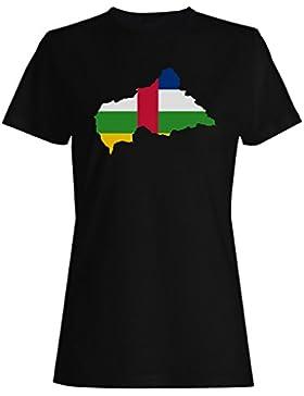 Nuevo Mundo De La Bandera De La República Africana camiseta de las mujeres i663f