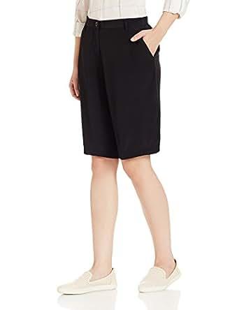 Armani Jeans Women's Shorts (AWP06-UM-12_Black_27)