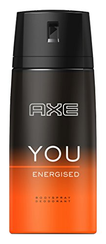 Axe Déodorant Spray You Energised pour Homme 150...