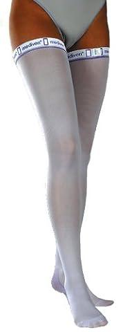 Mediven Thrombexin 18mmHg Anti-Embolism Compression Thigh Stockings / Socks Size L, 1 Pair