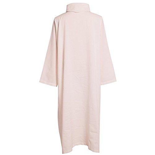 Kostüm Heidnisches Ritual - BLESSUME Katholische ALB Kirche Gewänder Robe (Weiß) (L)