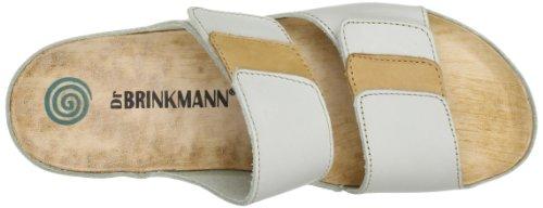 Dr. Brinkmann 700671, Sandali donna Bianco (Weiß (offwhite/beige 81))